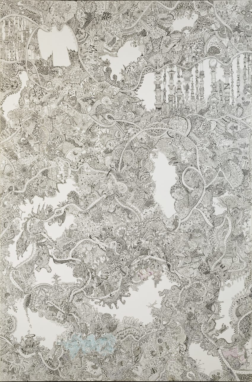 """fullsizeoutput 1d20 850x1288 - Tusche-Zeichnung """"love story"""" 80x120cm"""
