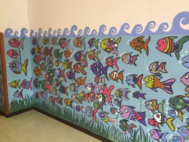 IMG 2221 375x281 - Murales creato con i bambini della Scuola Elementare Pascoli  a Duino-Aurisina(Trieste, Italia)